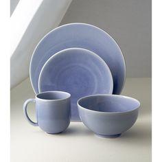 & Jars Tourron Grey 16-Piece Dinnerware Set | Grey plates and Products