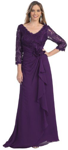 Mother of the Bride Formal Evening Dress #813 (4XL, Eggplant) US Fairytailes,http://www.amazon.com/dp/B009JM8UI4/ref=cm_sw_r_pi_dp_nD74sb1HF4R4AQFT