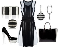 """""""Black & White"""" by leslie-giaudrone-berends on Polyvore"""