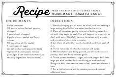 My Garden Fresh Favorites | 3 Tomato Recipes | At Home: A Blog by Joanna Gaines