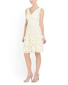 image of Sleeveless Chiffon Dress