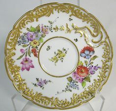Antique-Dresden-Hand-Painted-Demitasse-Cup-and-Saucer