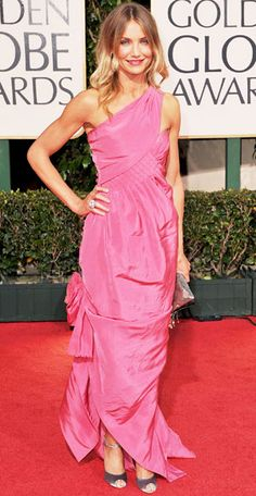 From Marilyn to J.Lo, See Our Favorite Golden Globes Gowns of All Time - Cameron Diaz, 2009 from InStyle.com