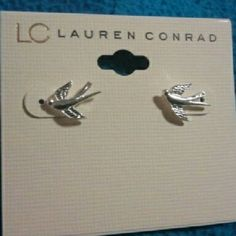Lauren Conrad dove earrings for a Sigma Kappa