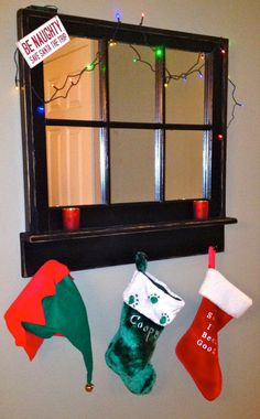 Black 6 Pane Window Frame Mirror and Shelf by AsIsRepurposedItems, $125.00  Great for primitive or french country styles!  www.asisrepurposeditems.com