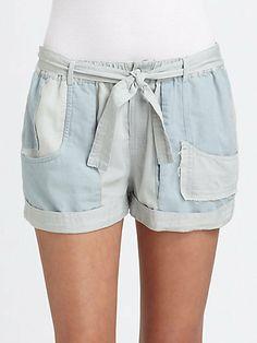 Shona Joy Go Your Own Way Chambray Shorts on shopstyle.com.au