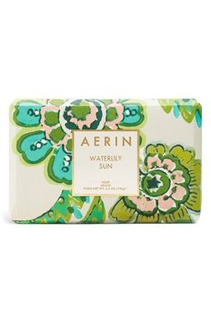 Love this nourishing soap that leaves the skin scented with hints of alluring waterlily and softly exotic jasmine sambac.