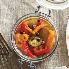Southern Pickle Recipes: Pickled Peppers
