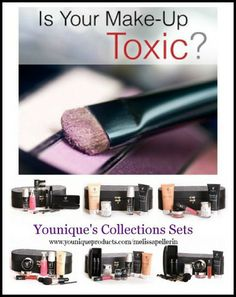 If your using Toxic, Chemical Cosmetics it is time to replace them!! Upgrade your Chemical Based Makeup to Younique's Mineral #Makeup it is amazing, it's Natural, Hypoallergenic, Gluten Free, Not Tested On Animals, and also Free of Chemicals, Talc, Oils, Preservatives, Perfumes, Synthetic Dyes, and Parabens. I suggest ordering 1 of our 6 #Younique Collections Sets to get you started with the switch #