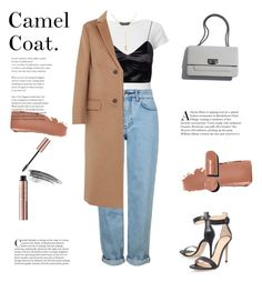 """""""Camel Coat And Good Vibes"""" by almafainer on Polyvore featuring Dorothy Perkins, Gianvito Rossi, Topshop, Valentino, Chanel and Bobbi Brown Cosmetics"""