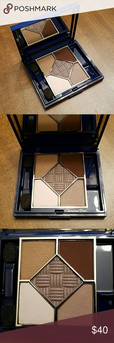 Christian Dior 5-Colour Eyeshadow Compact Basic Chic 080 - New, no box.  1 Applicator.  Outside of palette has some scratches from being in storage. Christian Dior Makeup