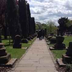 Roman gardens. Chester UK