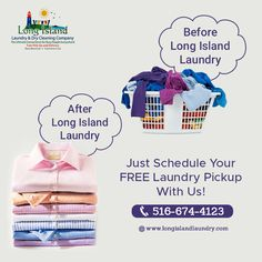 We offer wash, dry, fold laundry service with free pick-up and delivery! Cut the hassle and choose the experts at Long Island Laundry Co. Laundry Pick Up, 24 Hour Laundry, Laundry Logo, Laundry Shop, Laundry Design, Commercial Laundry Service, Self Service Laundry, Laundromat Business, Laundry Business