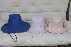 3 CAPPELLI STILE WESTERN