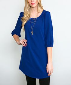 Look what I found on #zulily! Royal Everyday Tunic #zulilyfinds
