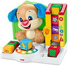 Amazon.com: Fisher-Price Laugh & Learn First Words Smart Puppy: Toys & Games