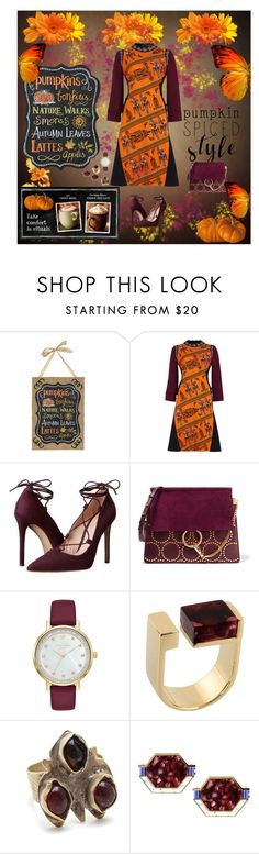 """Mary Katrantzou dress"" by deborah-518 ❤ liked on Polyvore featuring Mary Katrantzou, Massimo Matteo, Chloé, Égotique and Child Of Wild"