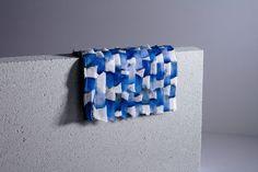 Textile Design - Lena Klikovich, Art Direction - Thomas Lichtblau Fabric Textures, Textile Design, Art Direction, Photo Wall, Textiles, Decor, Dekoration, Photograph, Decoration