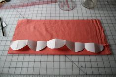 tutorial using Freezer paper for perfect scalloping