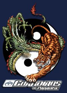 tiger and dragon tattoo vorlagen Dragon And Tiger Yin Yang Tattoo, Tiger Dragon, Tiger Tattoo, Yin Yang Tattoos, Cool Websites, Oriental, Arts And Crafts, Symbols, Concept