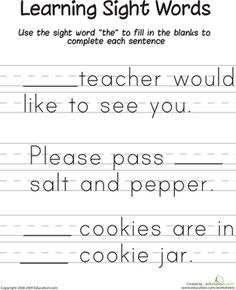 learning sight words ok pinterest learning sight words kindergarten sight words and word. Black Bedroom Furniture Sets. Home Design Ideas