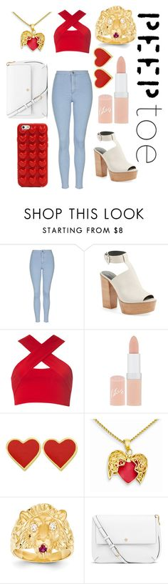 """Peep toe 3"" by victoriamello11 ❤ liked on Polyvore featuring Topshop, Rebecca Minkoff, Motel, Rimmel, Kevin Jewelers, Tory Burch, Marc Jacobs and peeptoe"