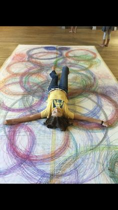 Child Draw, Spirograph Art, Ecole Art, Middle School Art, Art School, Collaborative Art, Preschool Art, Art Classroom, Art Club