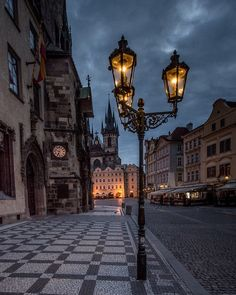 Street Lamp at Old Town Square, Prague, Czechia Oh The Places You'll Go, Places To Travel, Places To Visit, Wonderful Places, Beautiful Places, Europe Centrale, Prague Travel, Prague Czech Republic, Street Lamp