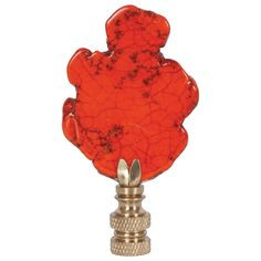 Hillary Thomas Rock n' Rolla Great Balls of Fire Lamp Finial Grayce Modern Decor, Modern Furniture, Lace Lampshade, Asian Bedroom, Dash And Albert, Black Lamps, Orange Is The New Black, Shop Interior Design, Rock N