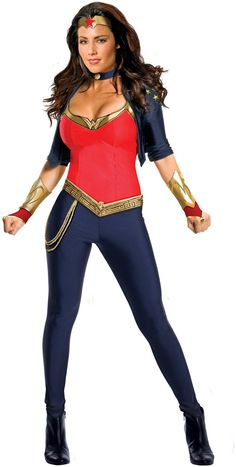 I like this WW costume, but could I get away without having a long wig?