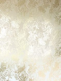 Hothouse Cream Gold wallpaper by Erica Wakerly