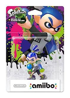 Splatoon Boy amiibo (Nintendo Wii U/3DS)