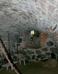Medieval Castle Dungeon Dungeon in castle foundations