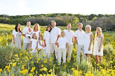 Love the organic look of this photo :-) large group pose - good idea for the Phillips, Brown, Cook photo shoot