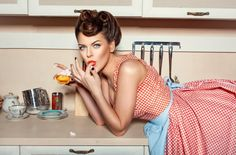 Search from 60 top Pin Up Girl pictures and royalty-free images from iStock. Find high-quality stock photos that you won't find anywhere else. Funny Diet Memes, Diet Humor, Slow Cooker Recipes, Cooking Recipes, Crockpot Meals, Freezer Meals, Brownies, Health Memes, Estilo Pin Up