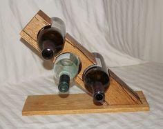 Wine Glass Rack, Wood Wine Racks, Small Wine Racks, Countertop Wine Rack, Wood Shop Projects, Wine Storage, Wood Pallets, Aquaponics, Woodworking