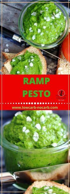 Wild Garlic Ramp Pesto  #wildgarlic #pestp #ramp #lowcarb #keto #paleo #fitfood #healthyfood #healthyrecipe #springfood
