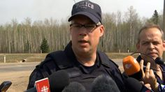 RCMP update on Fort McMurray wildfire - Canada - CBC News 5/7/2016 #ymmfire