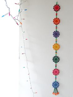 Multicolor Floral Paper Quilled handmade Wall by IvyArtWorks, $20.00