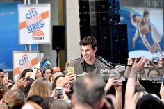 Shawn Mendes performs on the Citi Concert Series on TODAY at Rockefeller Center on July 8, 2016 in New York City.