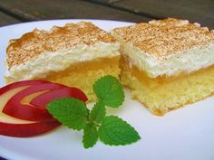 Kokosový jablečník Vanilla Cake, Tiramisu, Cheesecake, Food And Drink, Pudding, Baking, Ethnic Recipes, Cakes, Fine Dining