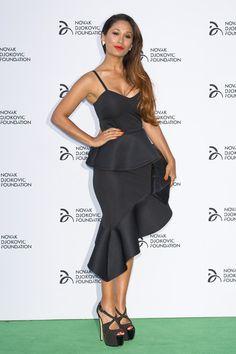 Preeya Kalidas at the Novak Djokovic Foundation Dinner.  #PreeyaKalidas #NovakDjokovic #Djokovic #carpet #redcarpet