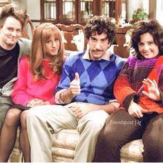 hahahaha i cant stop laughing at chandlers hair and ross' mustache!!