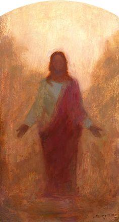 Resurected Christ by J. Kirk Richards