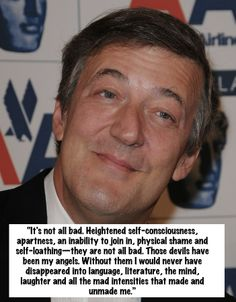 Stephen Fry - SparkLife » Inspiring Quotes from Celebrities About Body Image