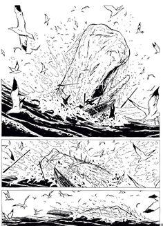 Neuf mois après le premier tome, sortie du deuxième opus de Moby Dick de Chabouté, une adaptation délicate du chef d'œuvre d'Herman Melville. ►►► A FEUILLETER ICI : http://www.franceinter.fr/depeche-sur-les-traces-de-moby-dick-avec-chaboute