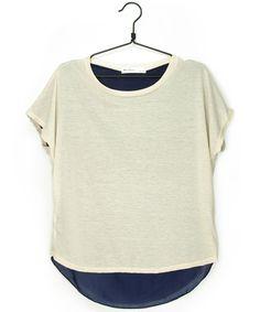 バックナイロンTシャツ  #シータ・ミュー