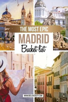 Want to discover Madrid in Spain? The Spanish capital is full of surprises! There are so many things to do in Madrid! Discover the ultimate Madrid Bucket list for an amazing vacation in Spain! #spain #madrid Madrid Spain things to do | Madrid Spain travel | Spain bucket list | Spain cities | Madrid Spain photos | Madrid travel | Spain beautiful places | Spain cities | European capitals | Things to do in Spain Bali Travel, Spain Travel, Best Places To Travel, Places To See, Places In Spain, Madrid Travel, Dubai Skyscraper, City Photography, Travel Around Europe