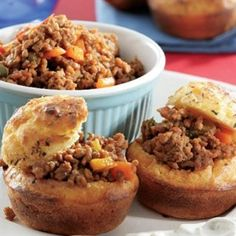 Savoury Muffins with mince