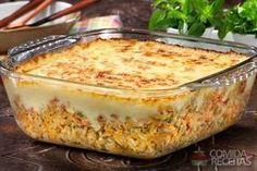 Receita de Arroz de forno cremoso especial em receitas de arroz, veja essa e outras receitas aqui!